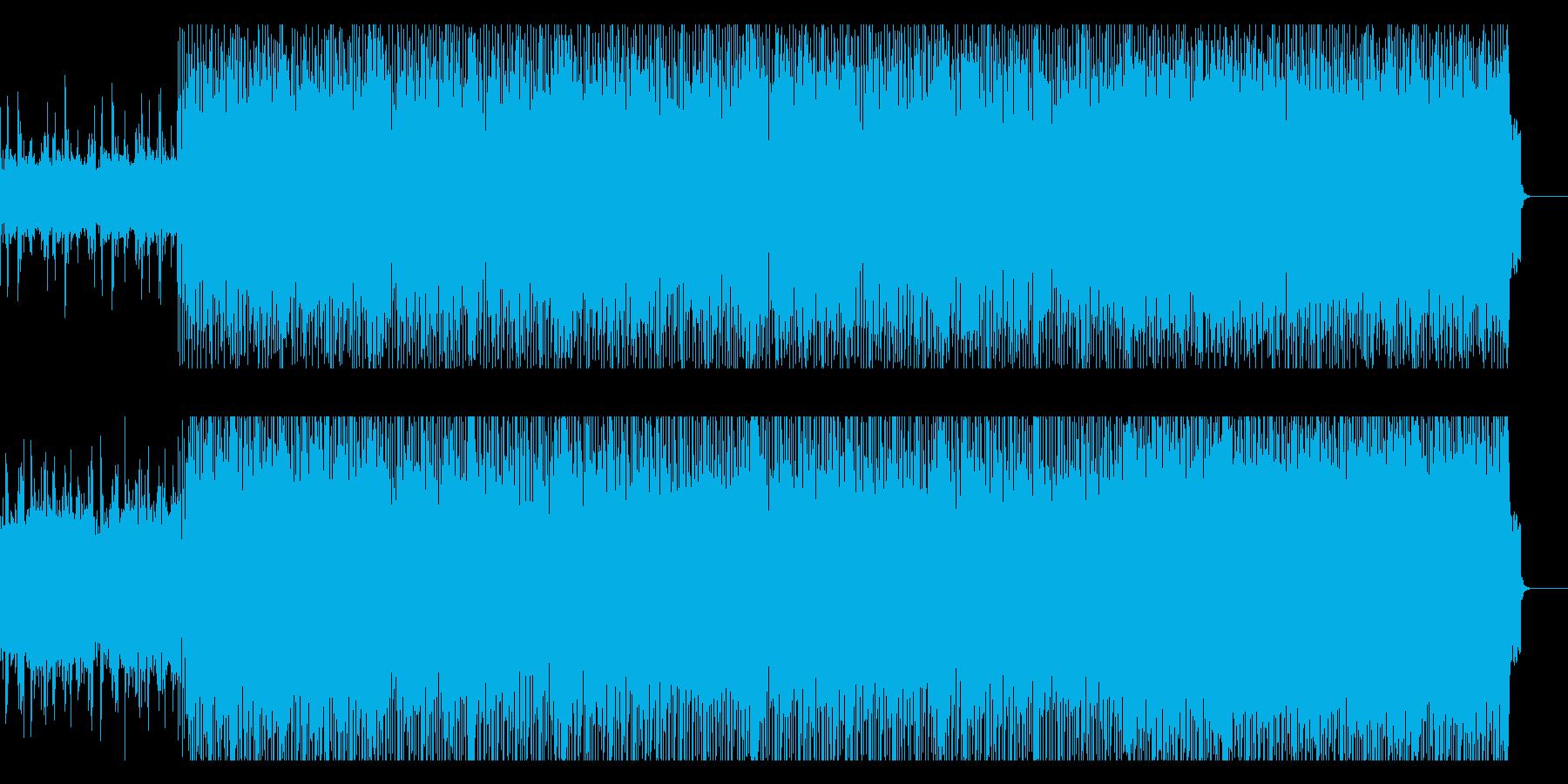 レトロ・フューチャーなインストの再生済みの波形
