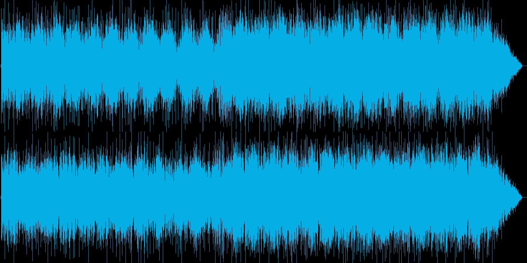ストーリーのあらすじを語るイメージの再生済みの波形