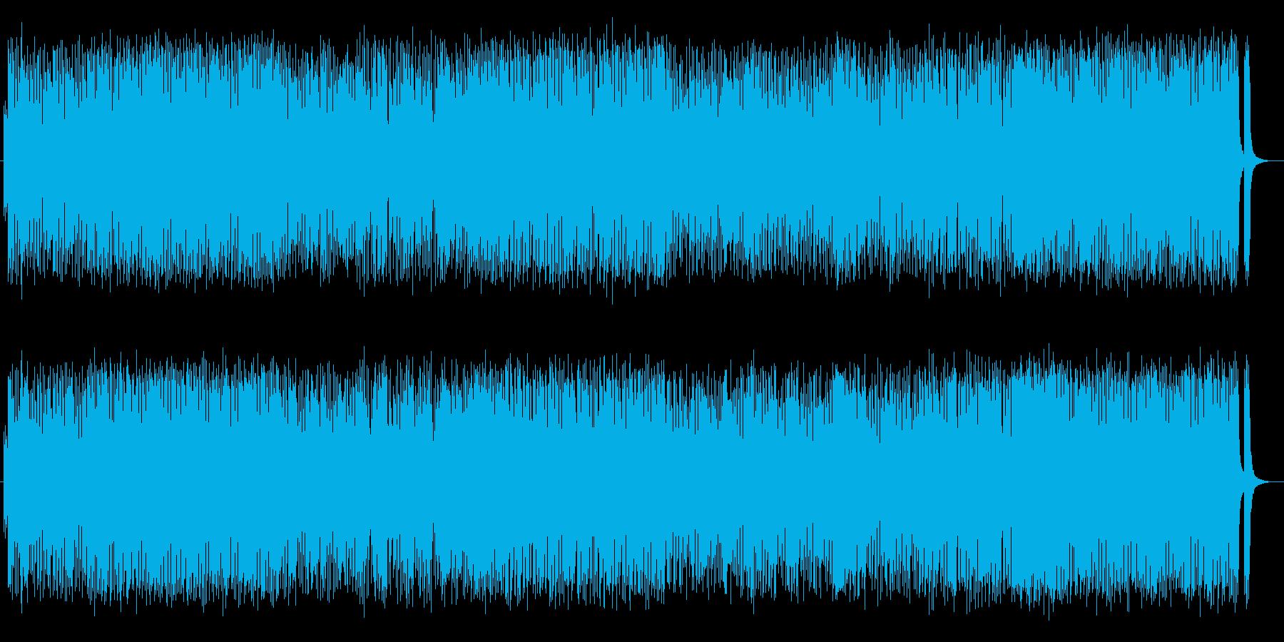 ワクワクするような軽快なサウンドの再生済みの波形
