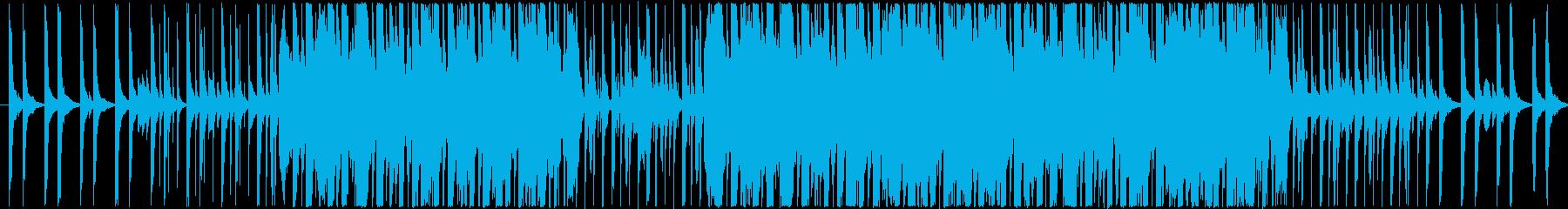 バイオリンを主体としたテクノロックの再生済みの波形