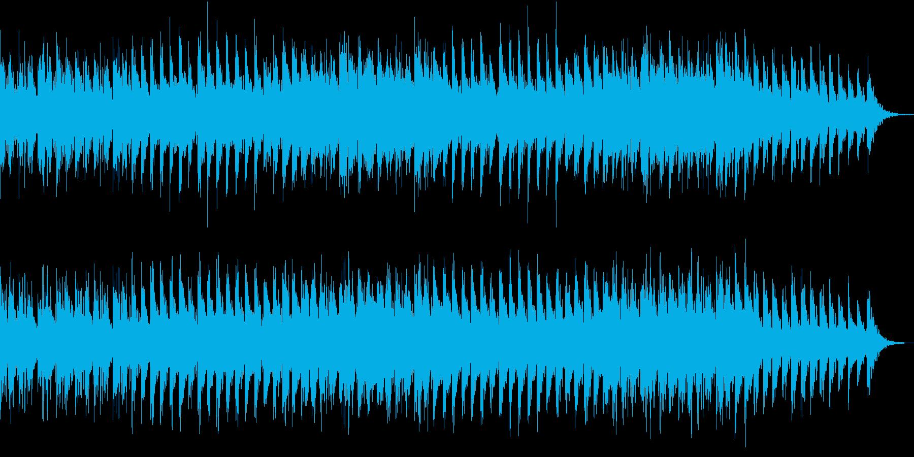 回想・再会シーン向けアコースティック曲の再生済みの波形