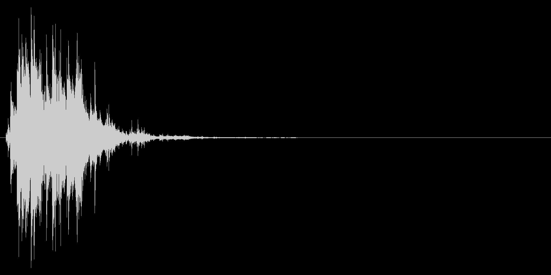 カラカラン(氷の音)の未再生の波形