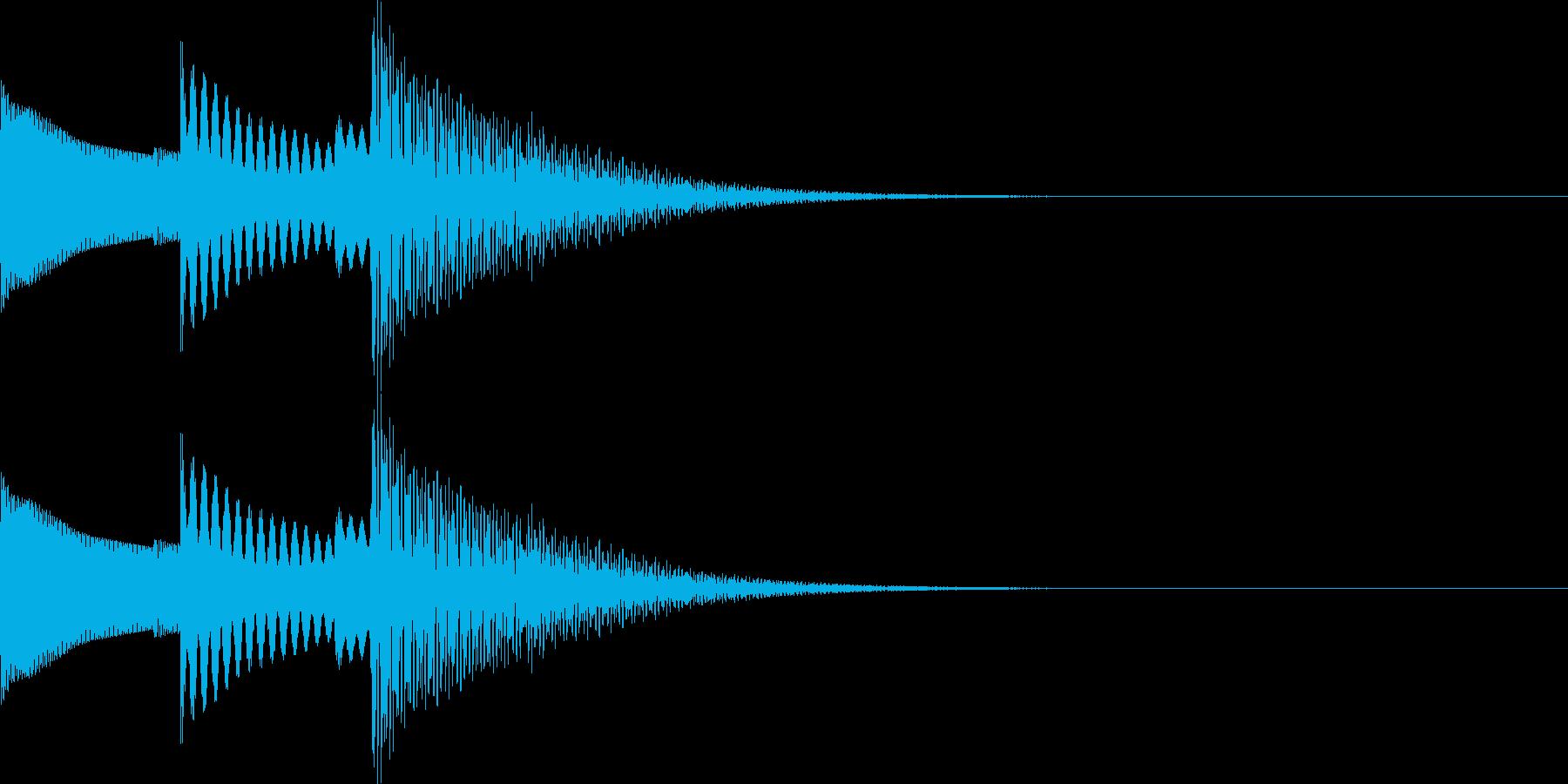 UI系 ぽこぽん かわいい系の再生済みの波形