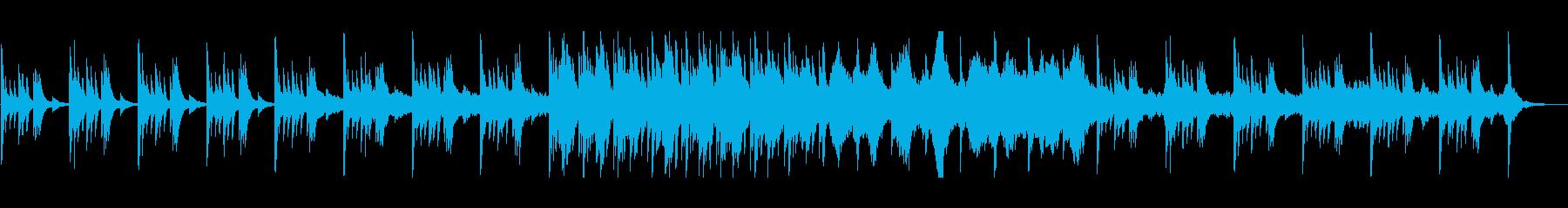 ピアノを使用した切ないアンビエントの再生済みの波形