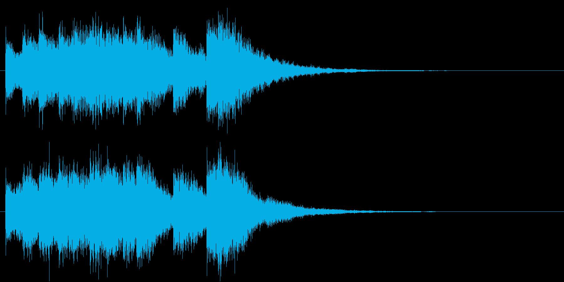 電車の発車・到着ジングル-02(5秒)の再生済みの波形
