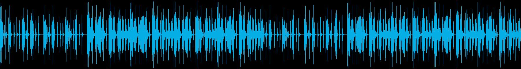 【ゲームポップス/メニュー/メイン画面】の再生済みの波形