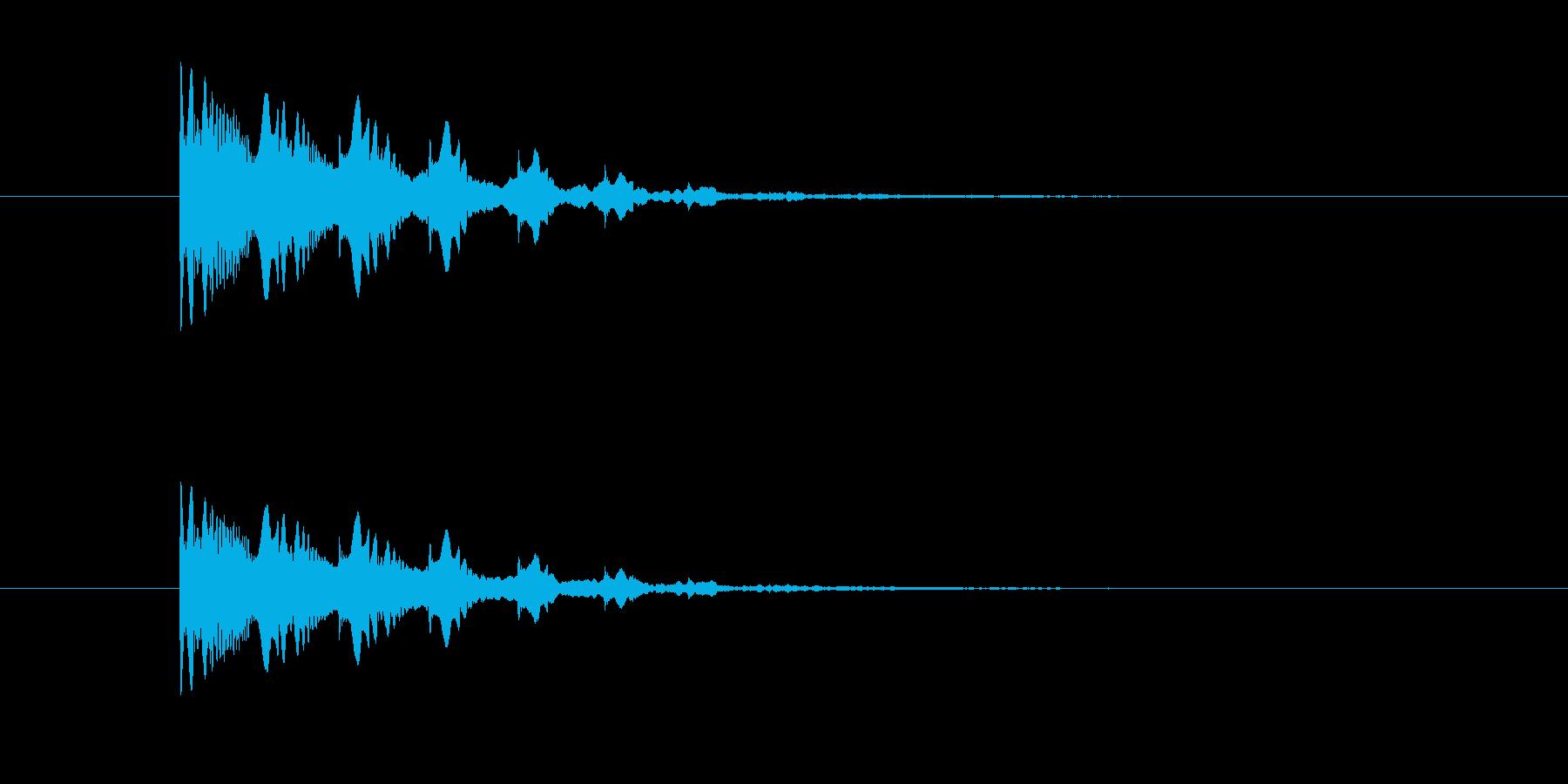 ポヨヨヨン(マシーン、脱力)の再生済みの波形