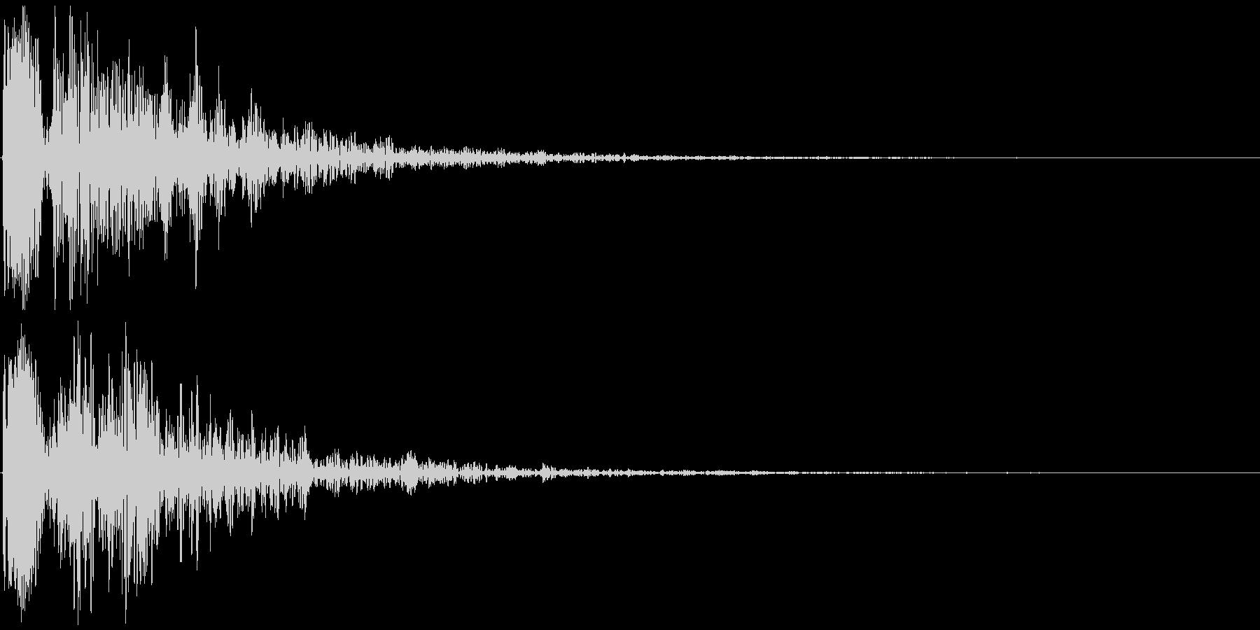 ドゥーン 映画の予告など(インパクト音)の未再生の波形