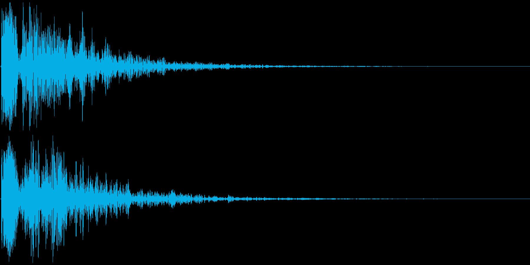 ドゥーン 映画の予告など(インパクト音)の再生済みの波形