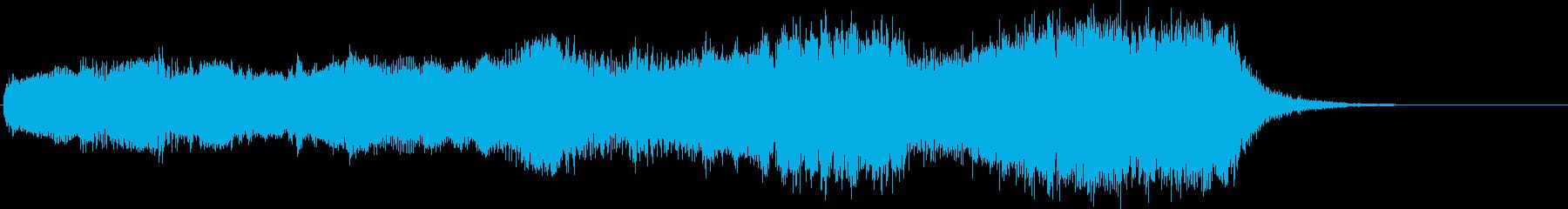 ファンタジーRPGのゲームオーバーを想…の再生済みの波形