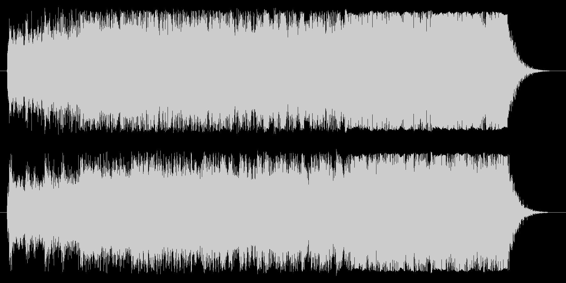 洋画のかっこいい予告編のような音楽です。の未再生の波形