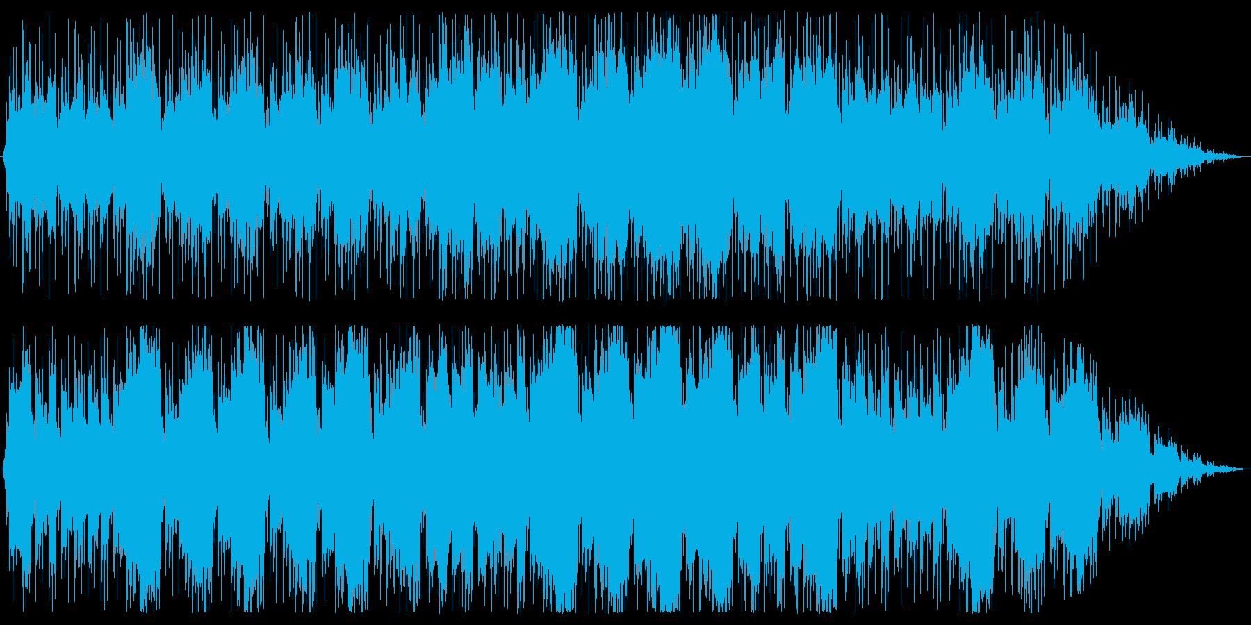 民族的なドラムの楽曲ですが、様々な場面…の再生済みの波形