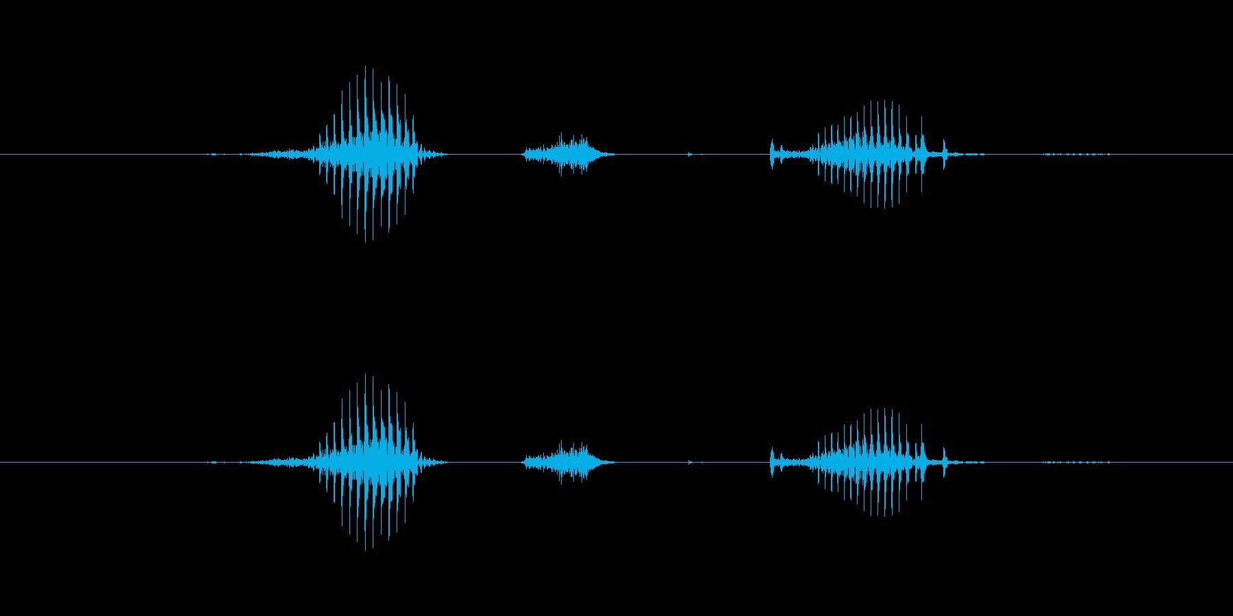 【日】20日の再生済みの波形