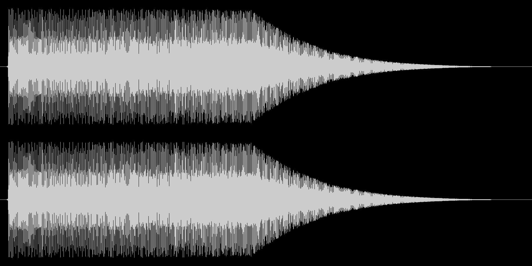 上昇/パワーアップ/メーターの未再生の波形