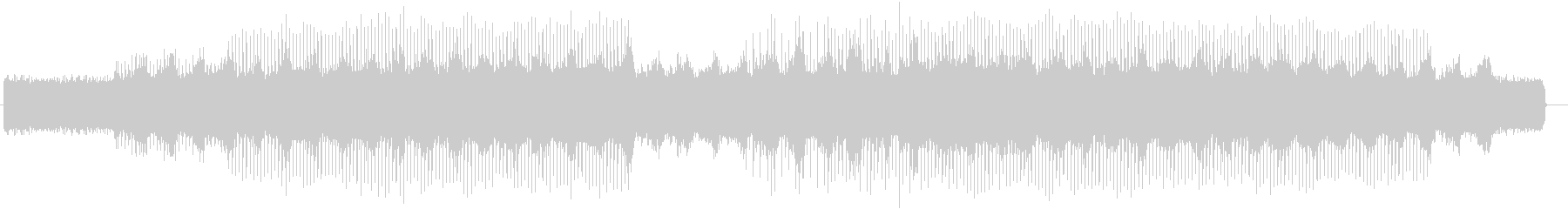 ドラマティックなギターピアノサウンドの未再生の波形