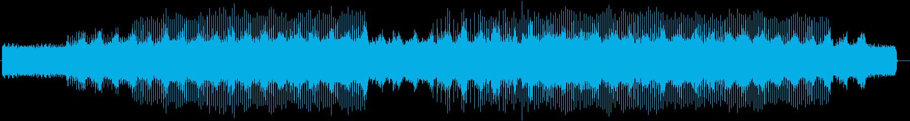 ドラマティックなギターピアノサウンドの再生済みの波形