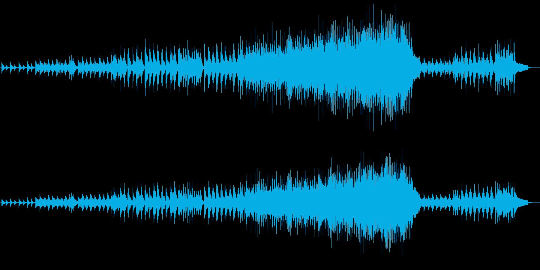 ピアノ・アンサンブルの再生済みの波形