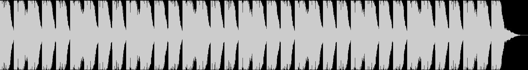 壊れたオートハープなどによる奇妙なリズムの未再生の波形