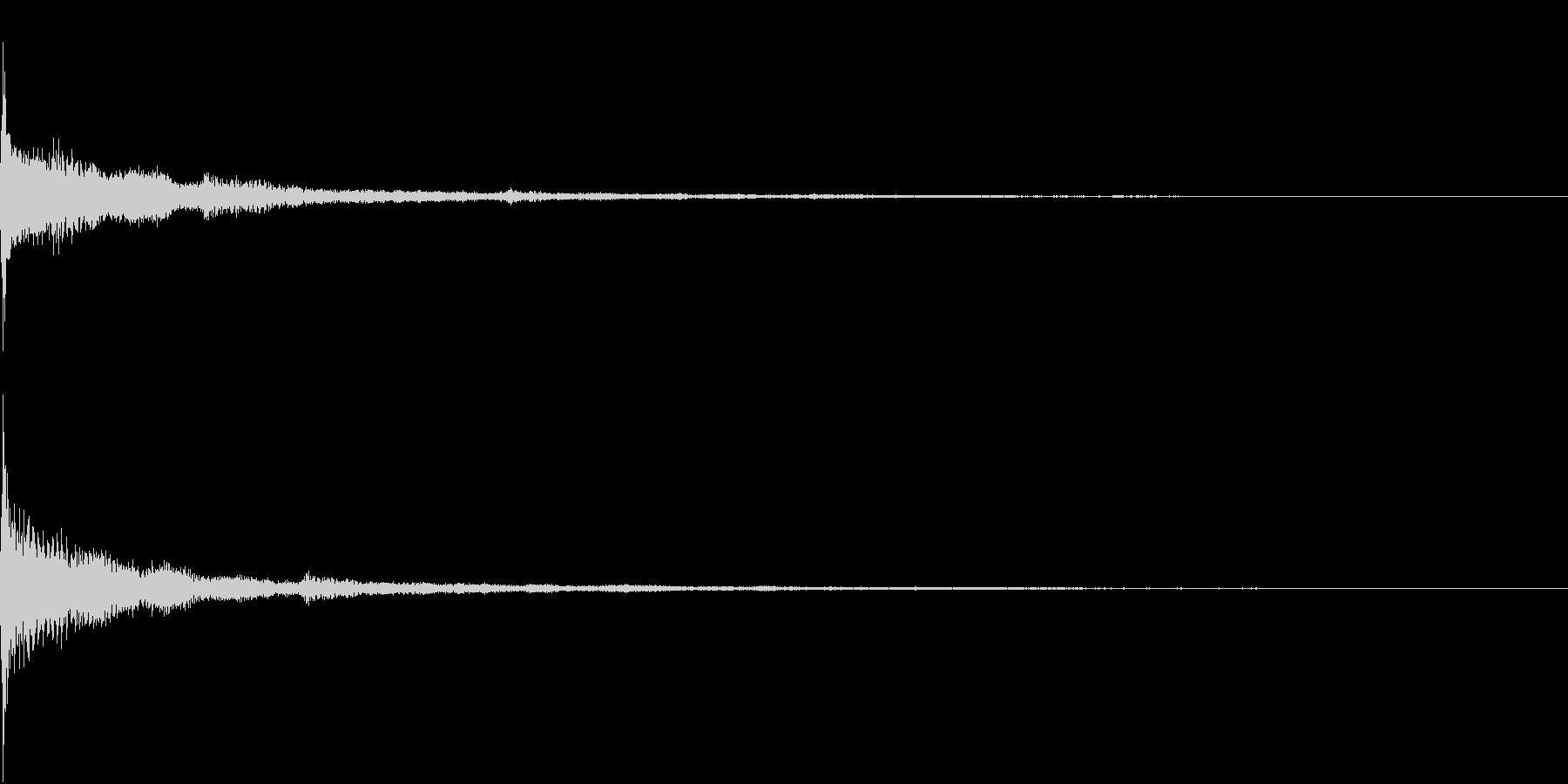 Game 特殊効果・武器装着SEの未再生の波形