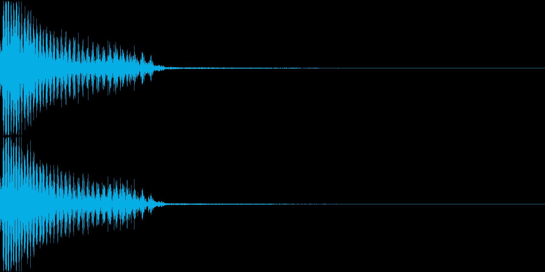 InvaderBuzz 発砲音 18の再生済みの波形