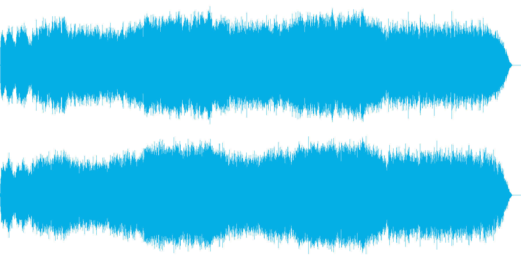 「関ヶ原の戦い」をイメージし、戦いの物…の再生済みの波形