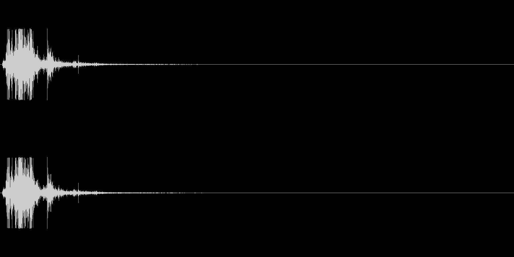 マント-2 (バサッ)の未再生の波形