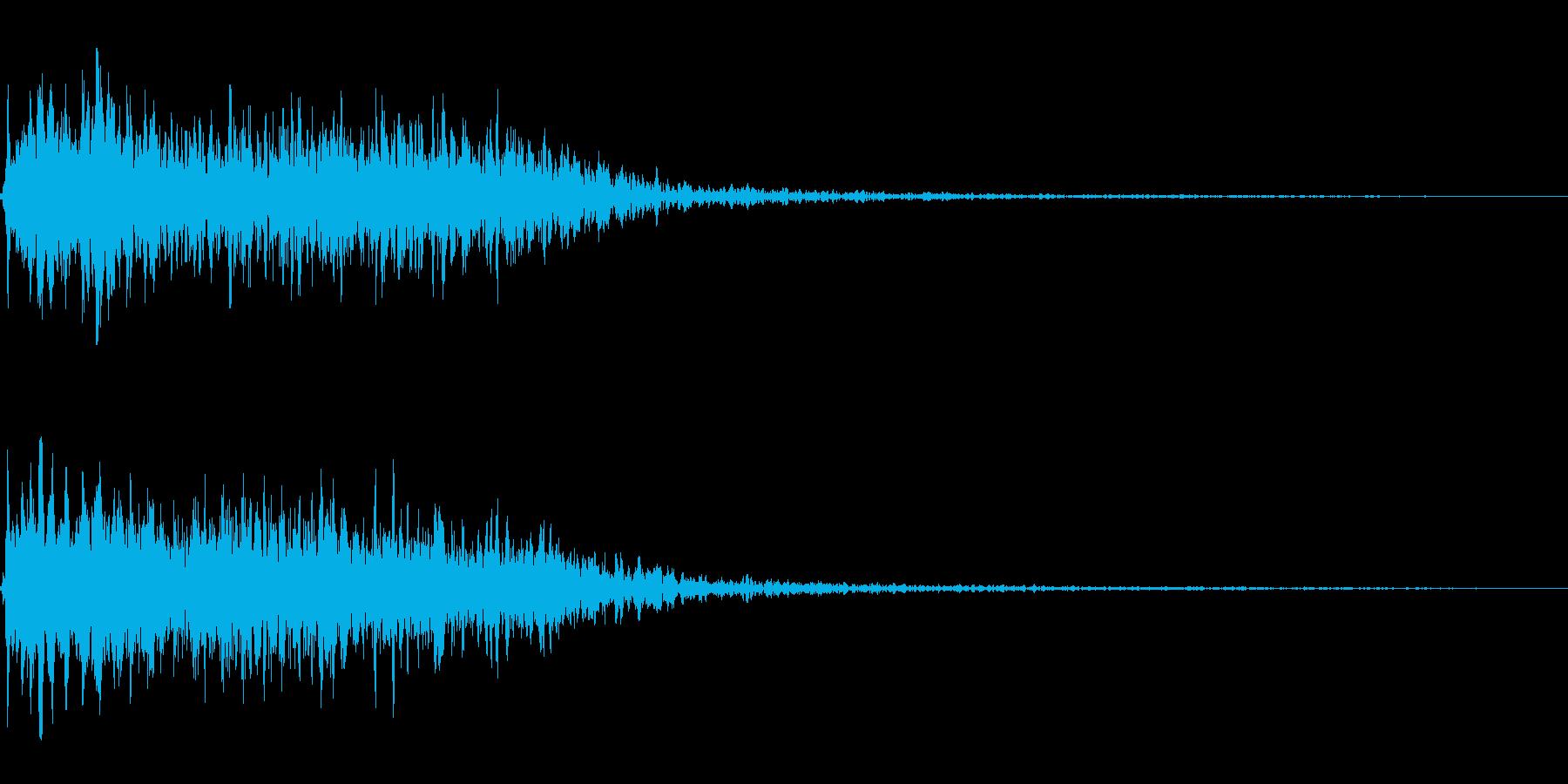 吹きすさぶ風・竜巻系の魔法(高レベル)sの再生済みの波形