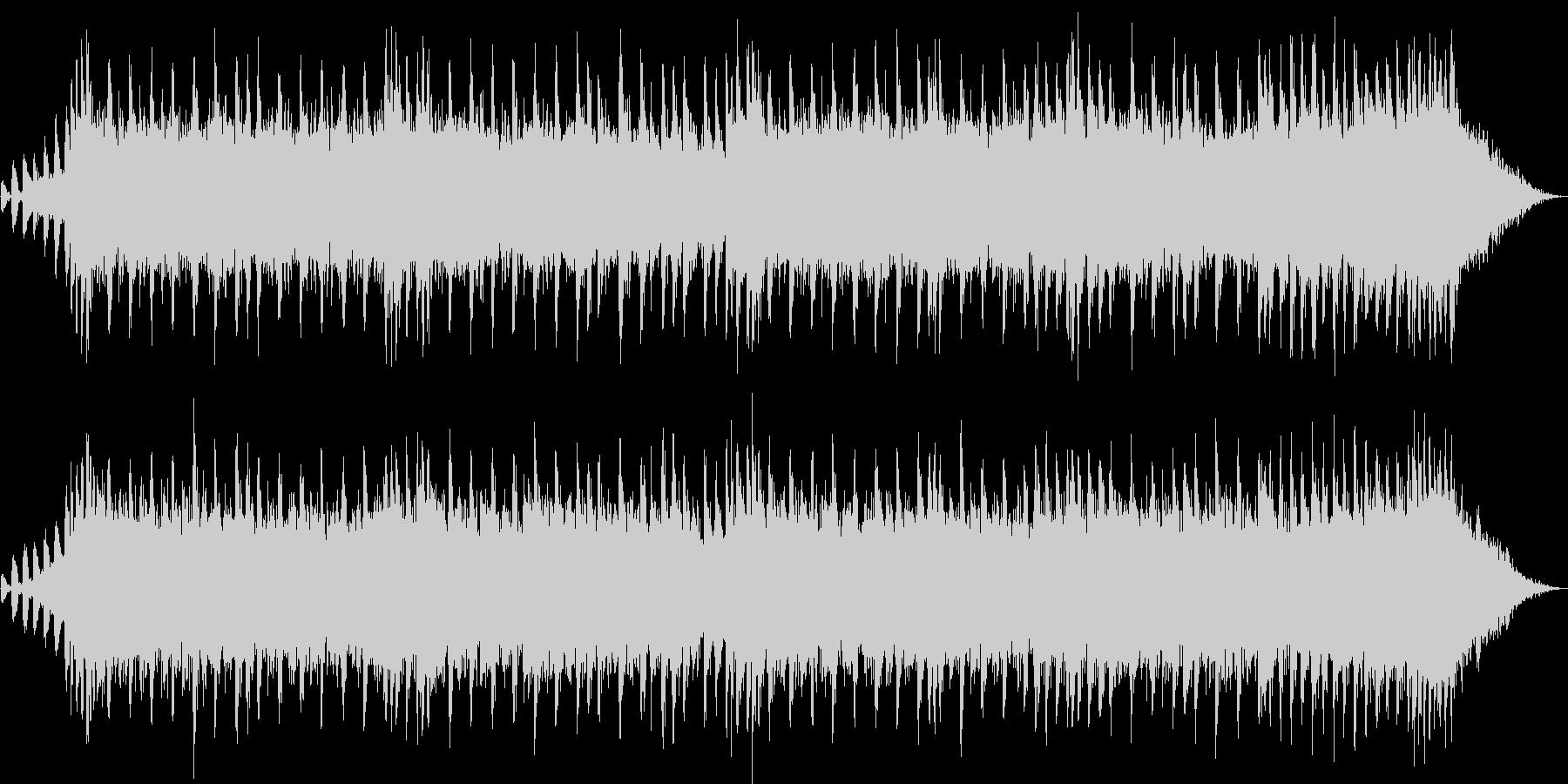 30秒のCM向けの軽快なBGMです。の未再生の波形