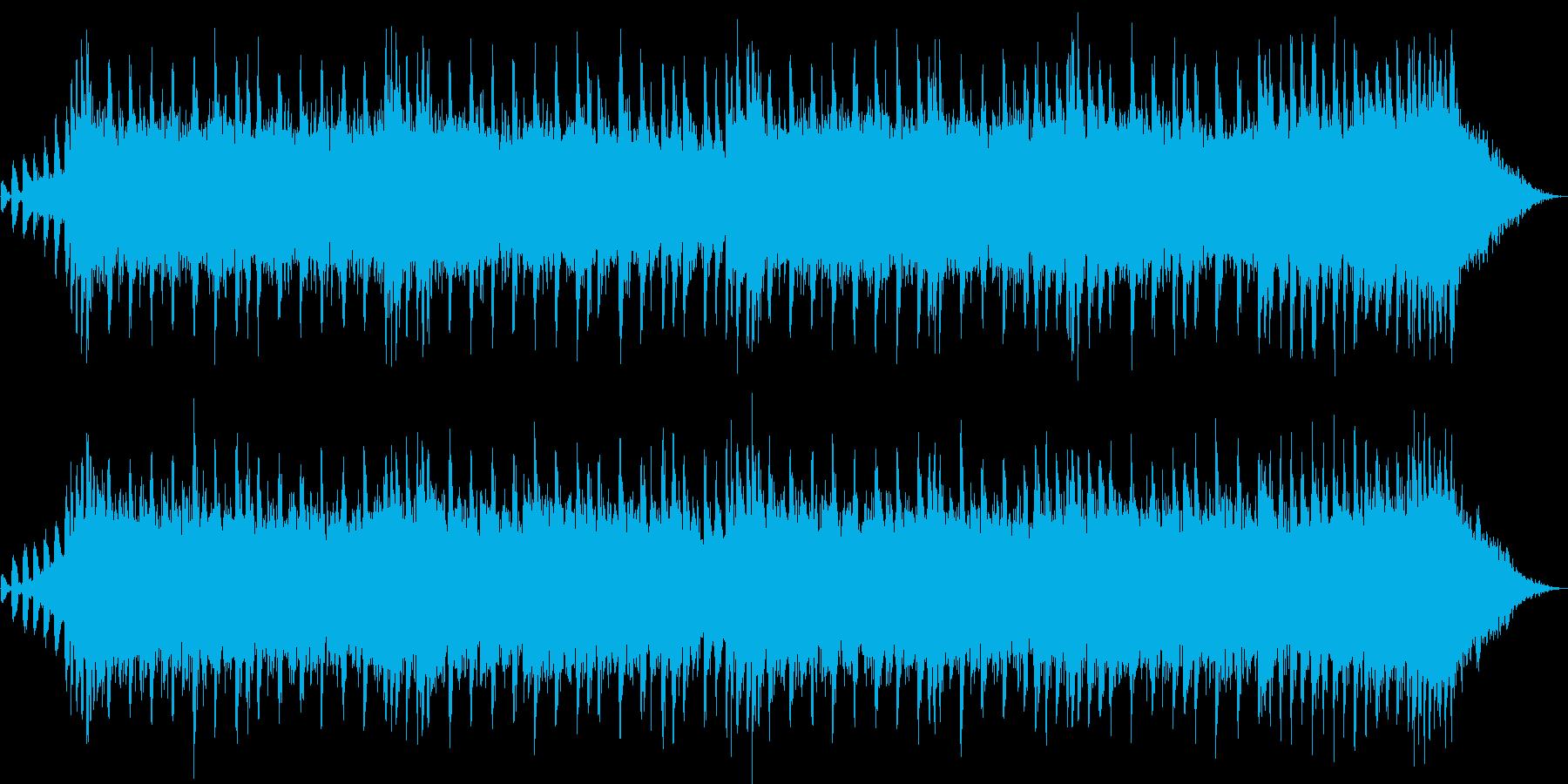 30秒のCM向けの軽快なBGMです。の再生済みの波形