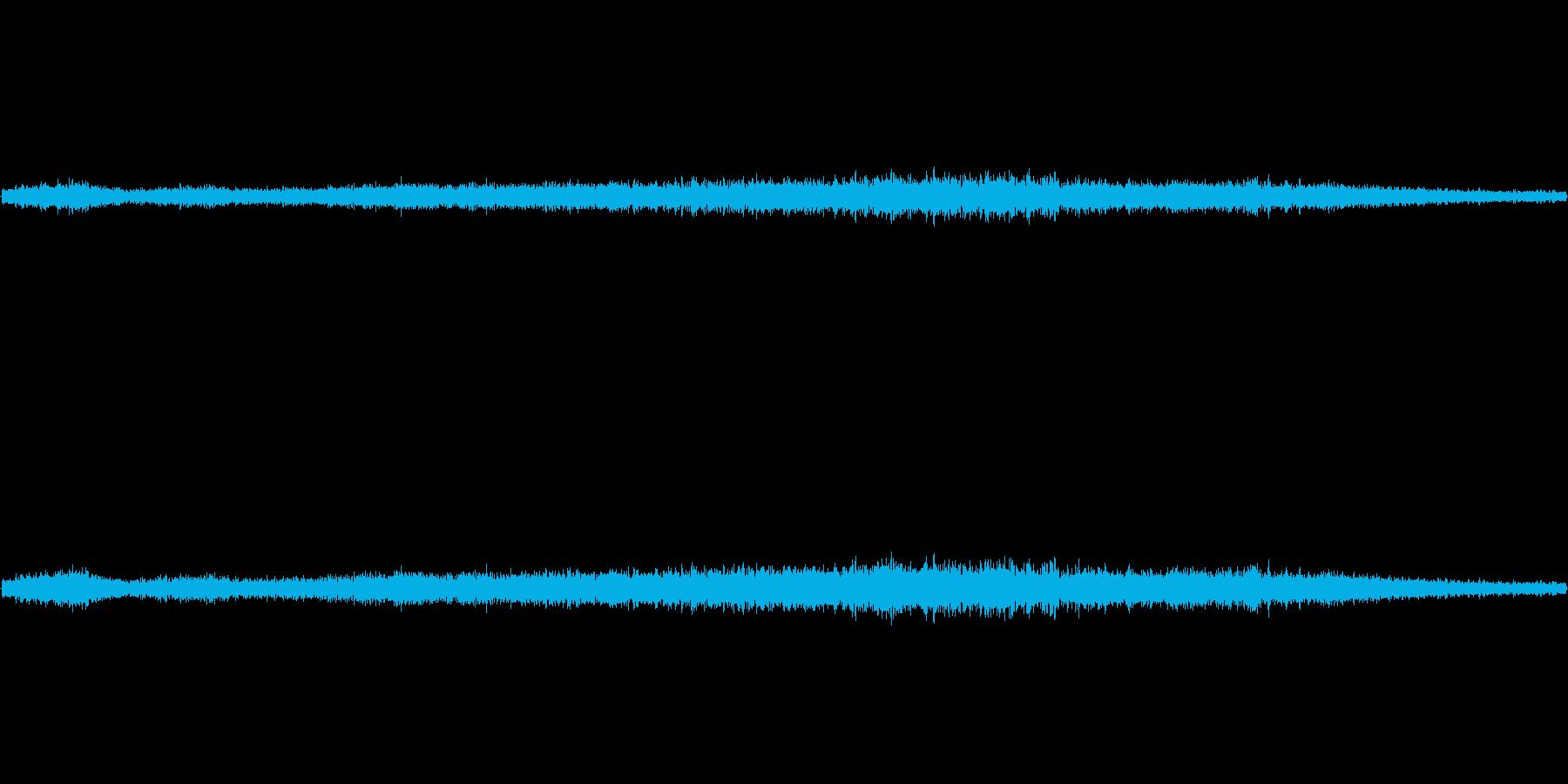 【生音】通行音 - 2 トラックのエン…の再生済みの波形