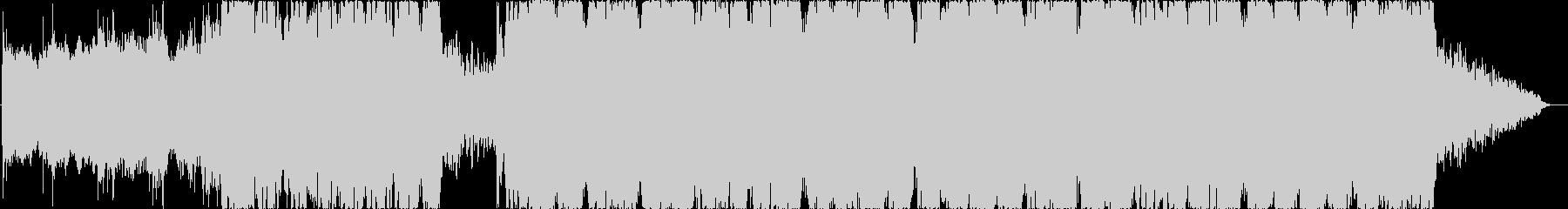 暗い雰囲気のシンフォニックの未再生の波形
