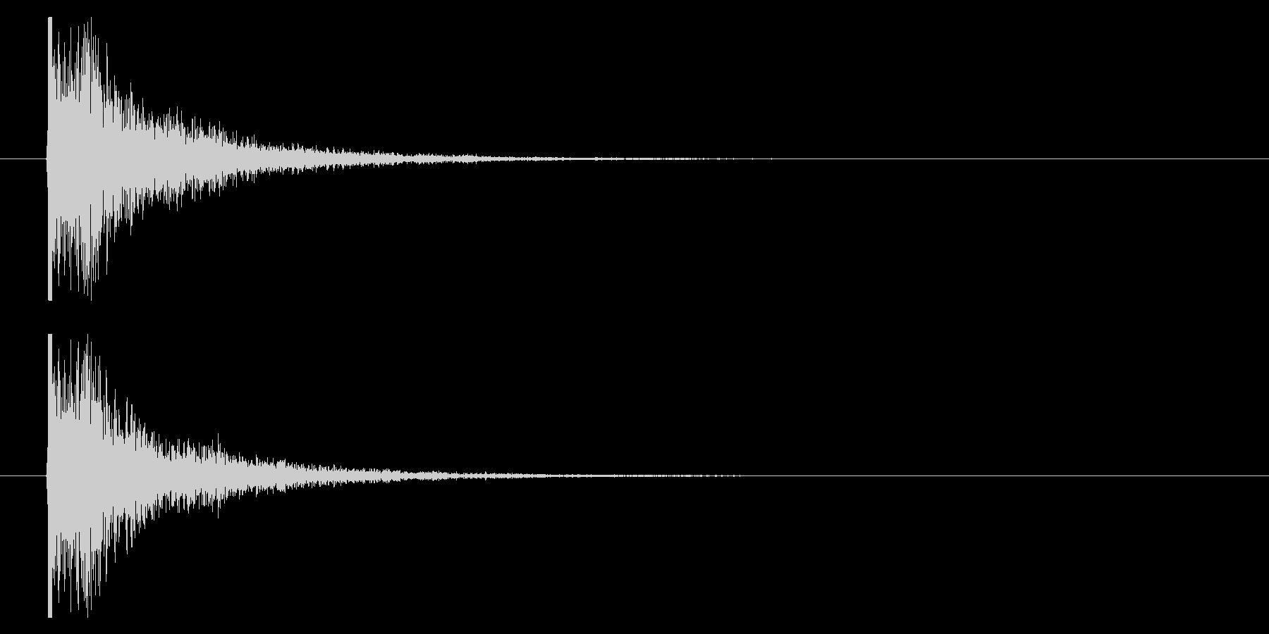 打撃09-5の未再生の波形