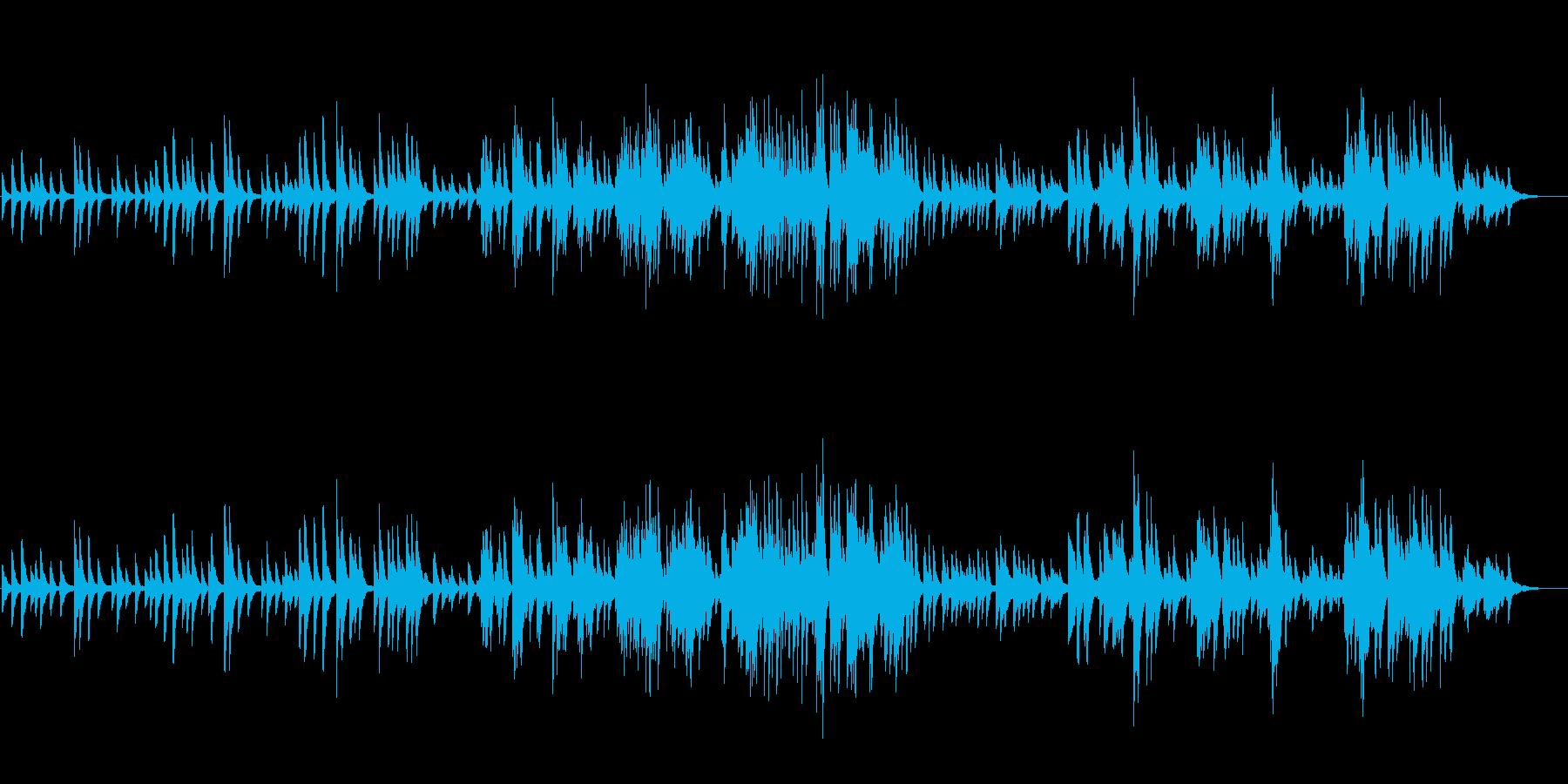 静かで穏やかイージーリスニングピアノソロの再生済みの波形