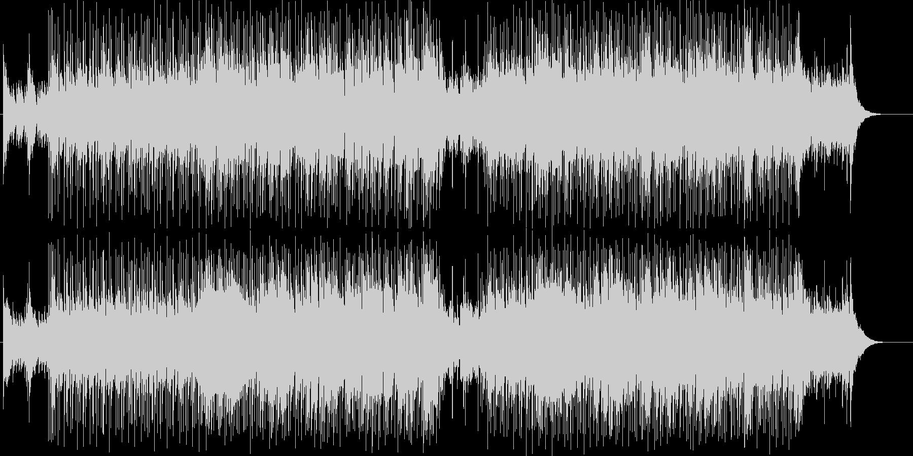 デリケートでシンプルなフォーク・ロック調の未再生の波形