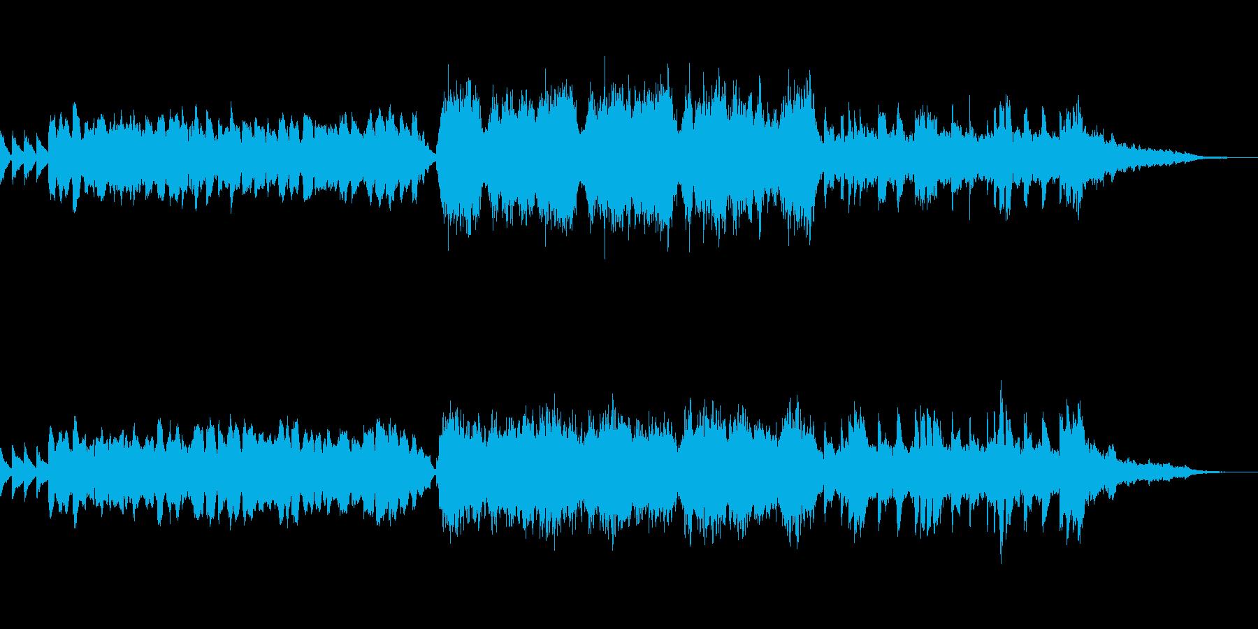 RPG・フィールド用BGMの再生済みの波形
