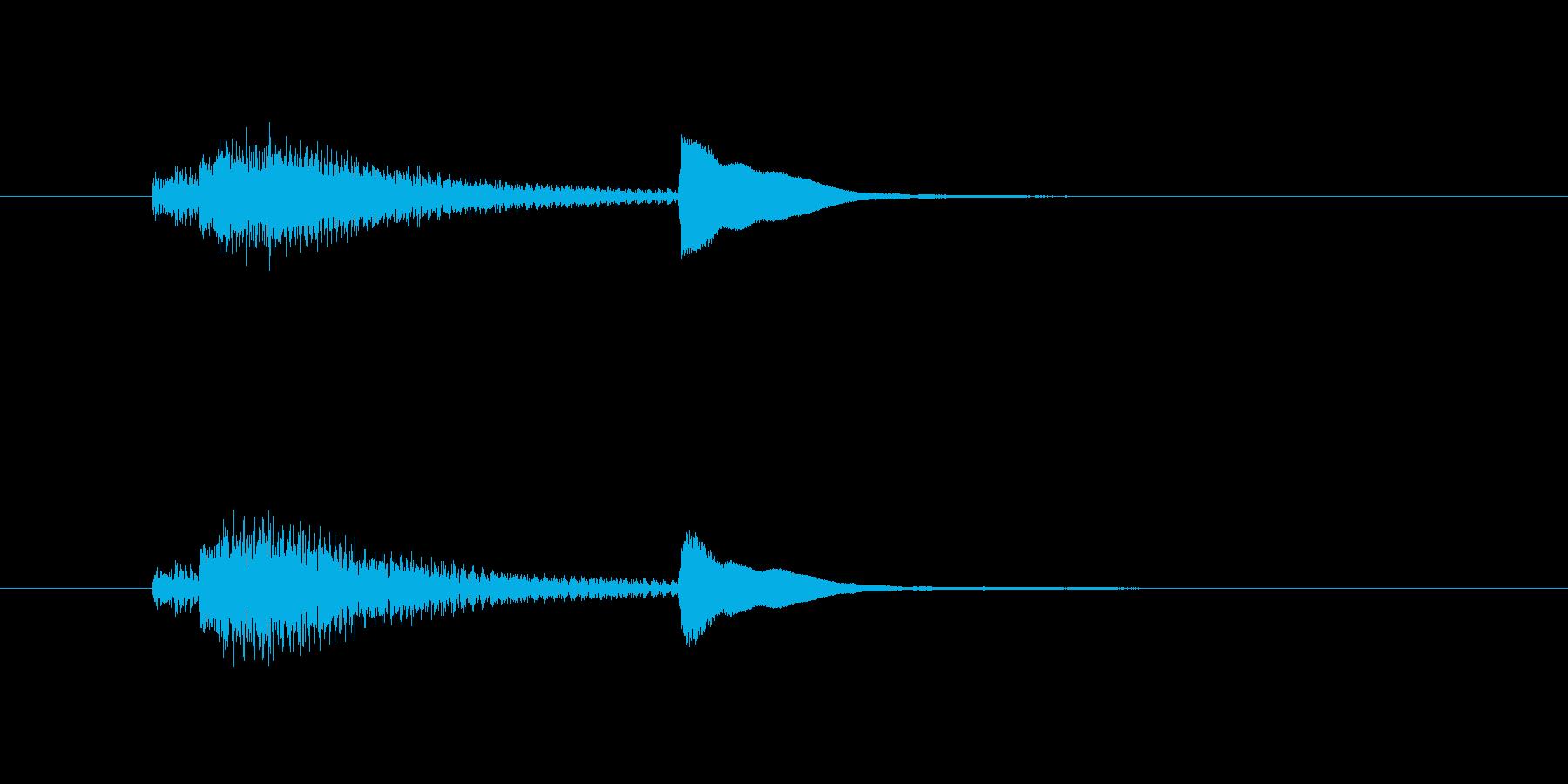 サウンドロゴ-3の再生済みの波形