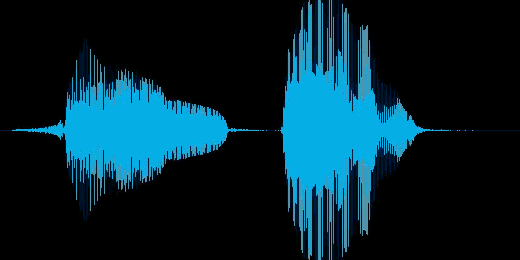 せんぱい♪の再生済みの波形