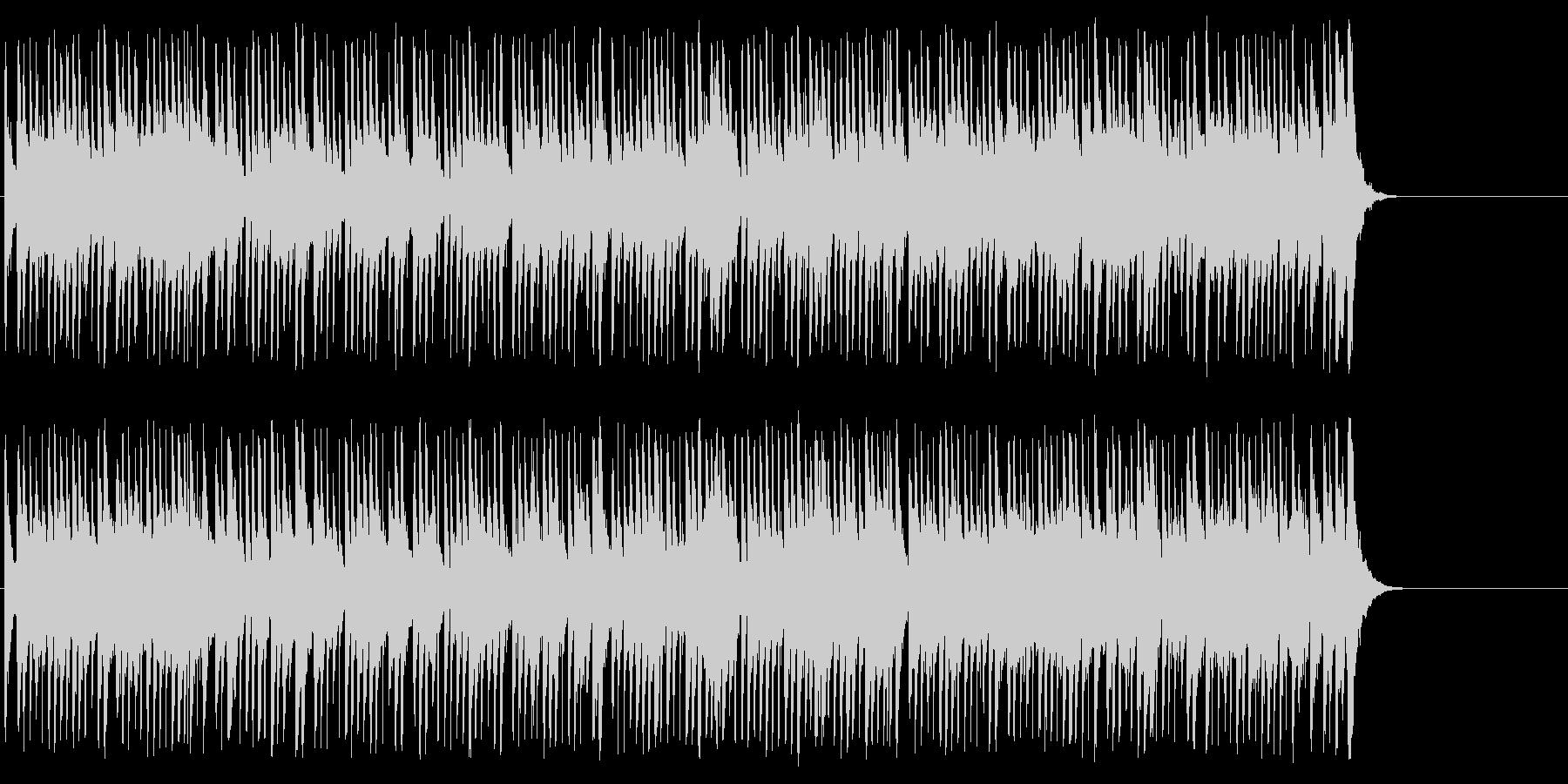 お洒落なポップ/ボサノバ/BGの未再生の波形