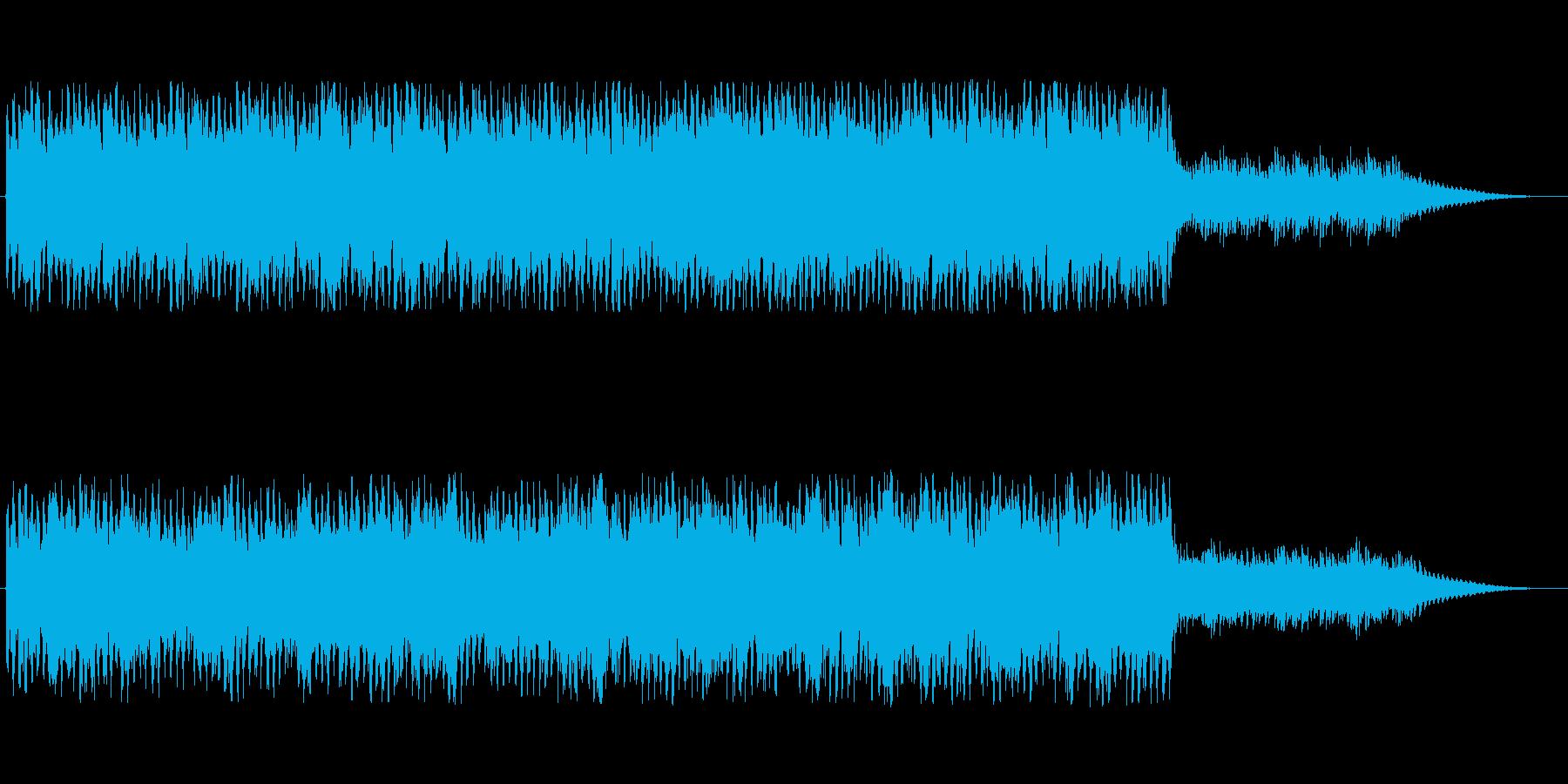 幻想的でミニマルなストリングスの再生済みの波形