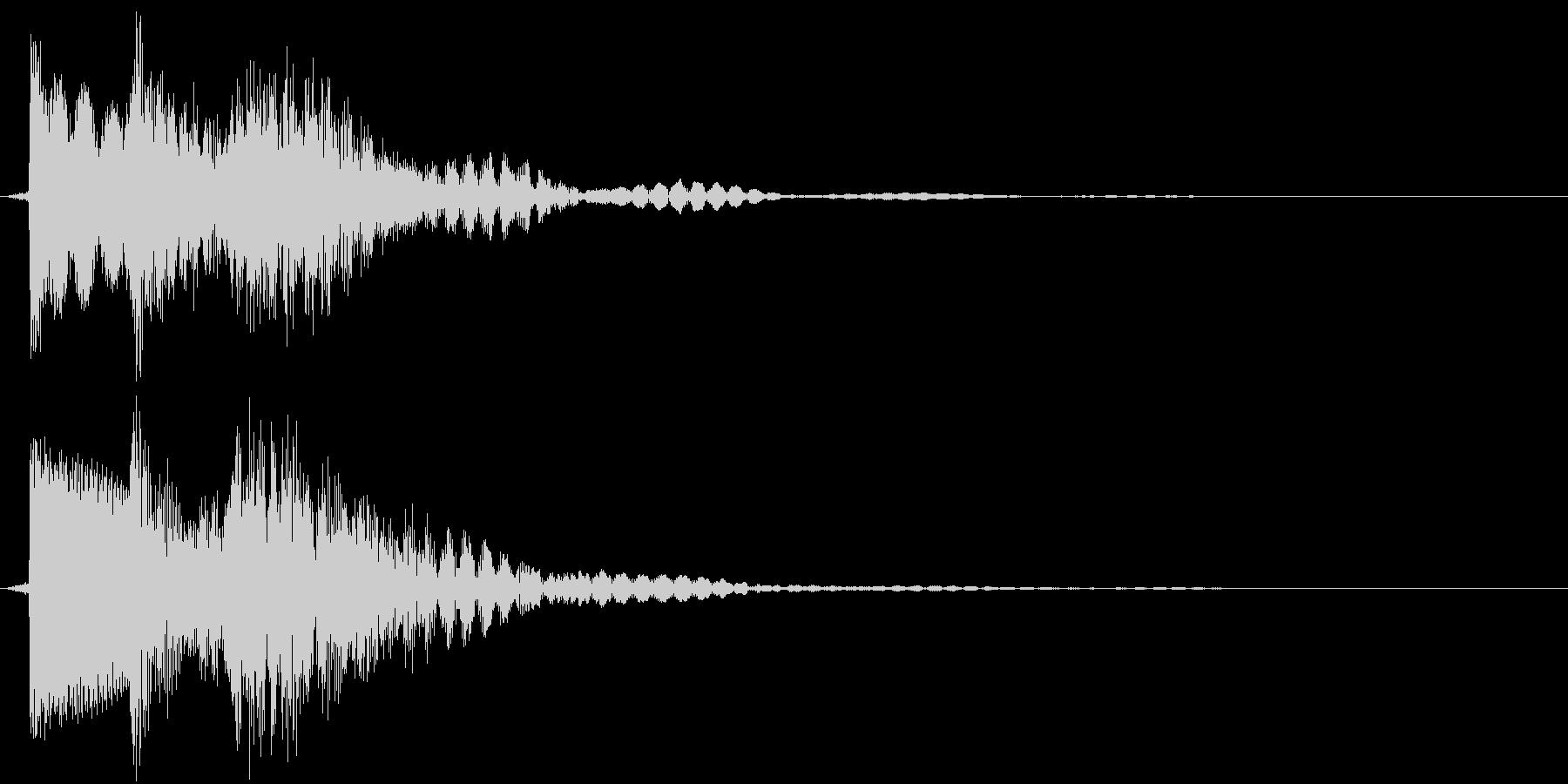ティロテン(決定、ゲーム、アプリ)の未再生の波形
