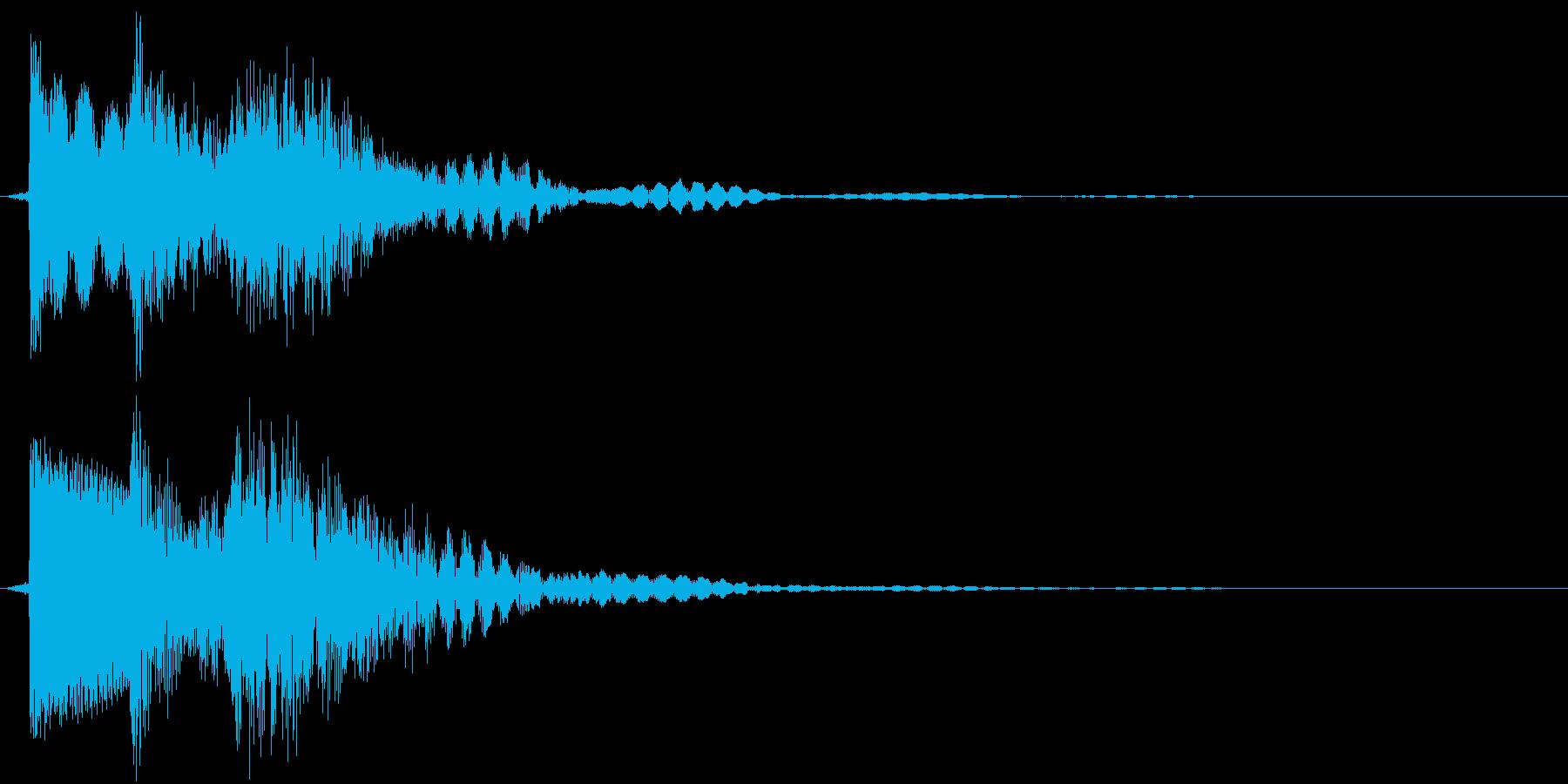 ティロテン(決定、ゲーム、アプリ)の再生済みの波形
