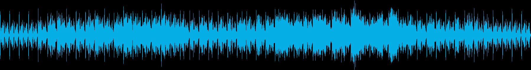 マリンバと笛シンセのエレクトロニカです…の再生済みの波形