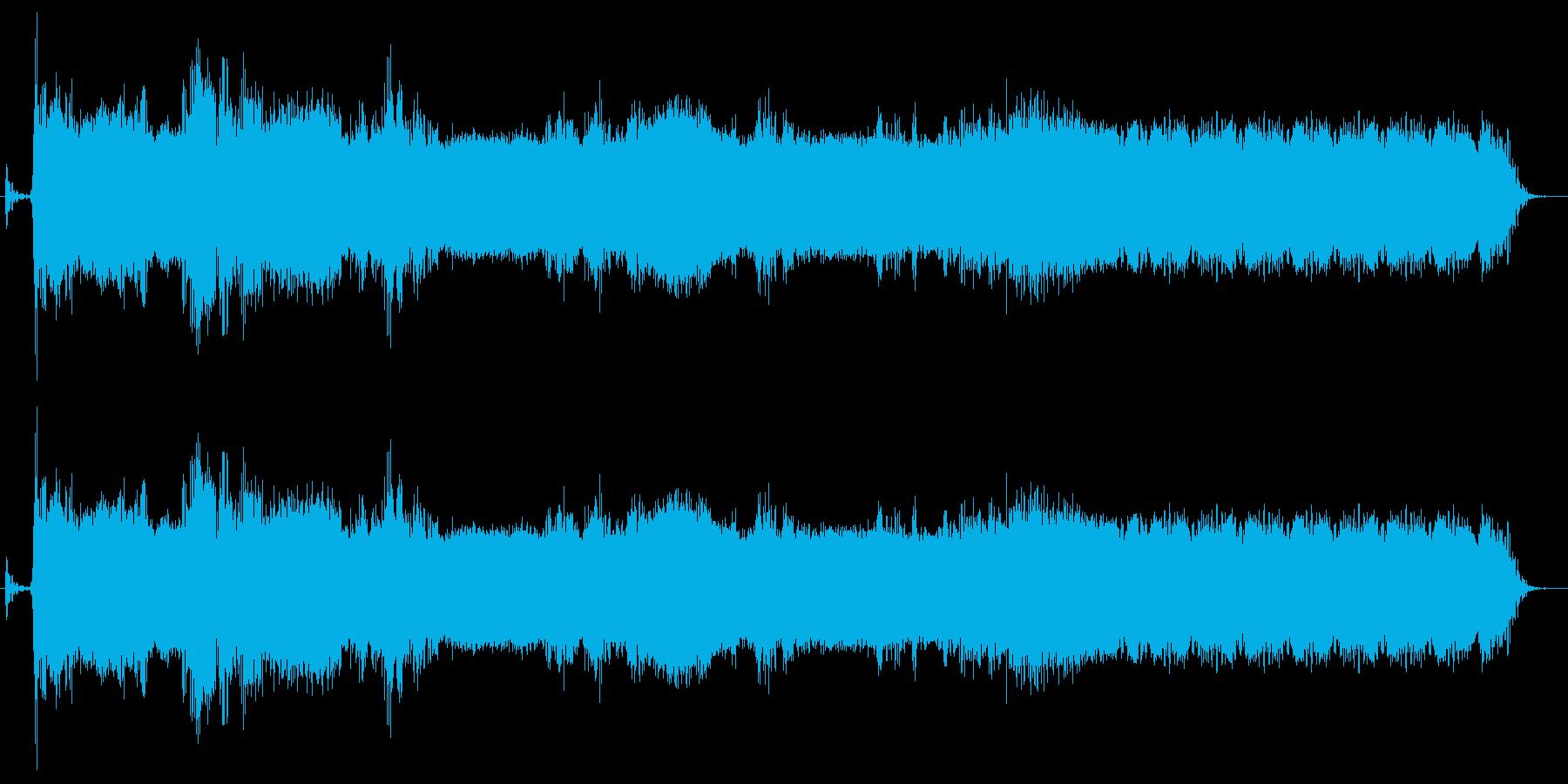 キュイーンの再生済みの波形