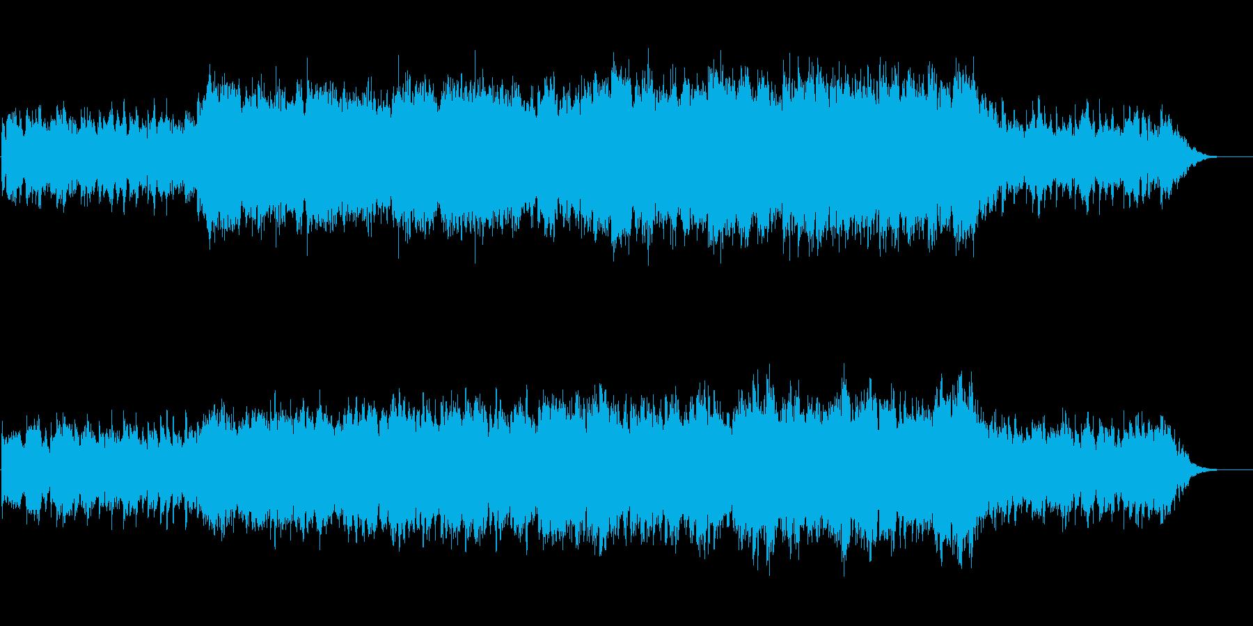 懐かしい感じのギターAmbientの再生済みの波形