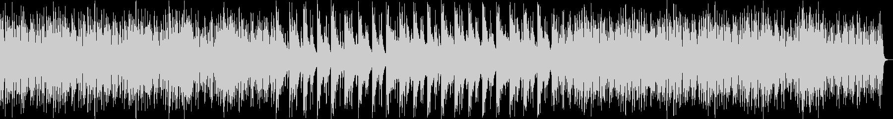 ミステリアスなシンセ・木琴サウンドの未再生の波形