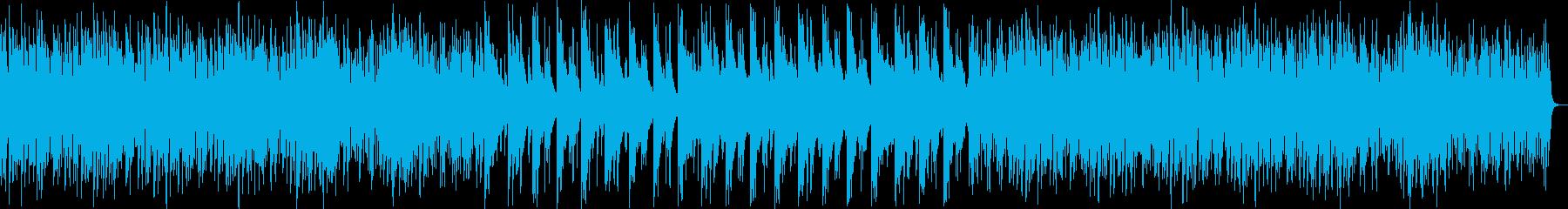 ミステリアスなシンセ・木琴サウンドの再生済みの波形