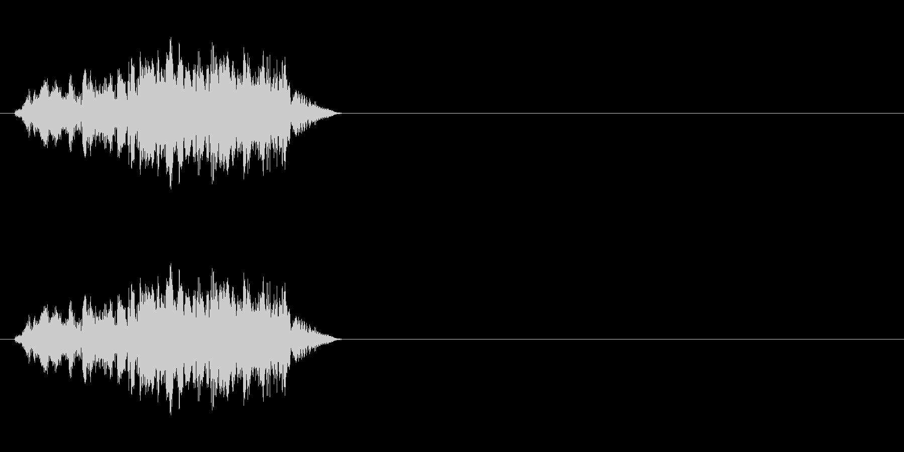 エイリアンの発声などに 6の未再生の波形
