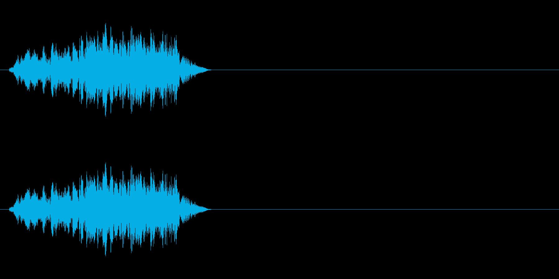 エイリアンの発声などに 6の再生済みの波形