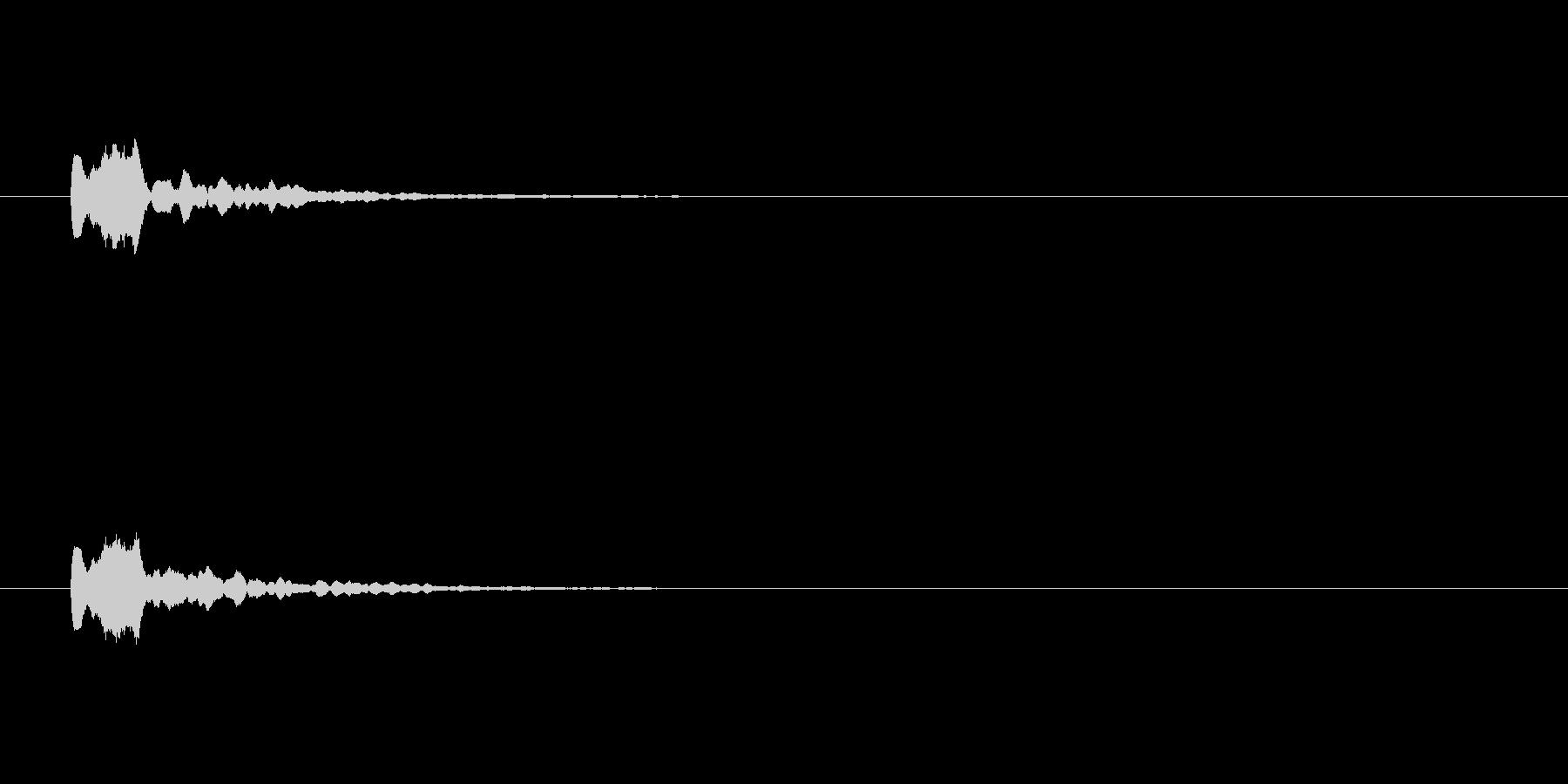【サイバー21-2】の未再生の波形