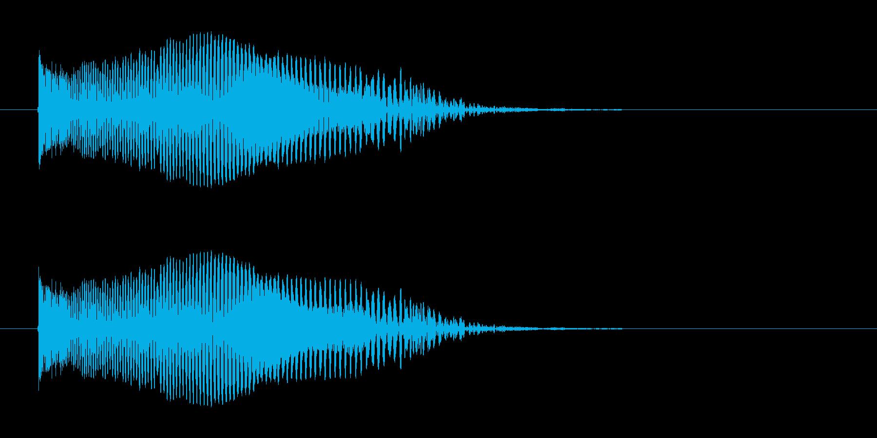 シューティング SFビーム発射音3の再生済みの波形